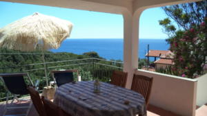 Il Maretto - terrazza vista mare