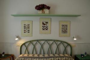 Corallo - dettaglio camera matrimoniale